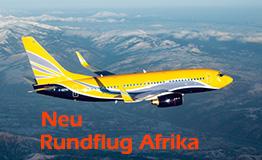 Rundflug über Afrika