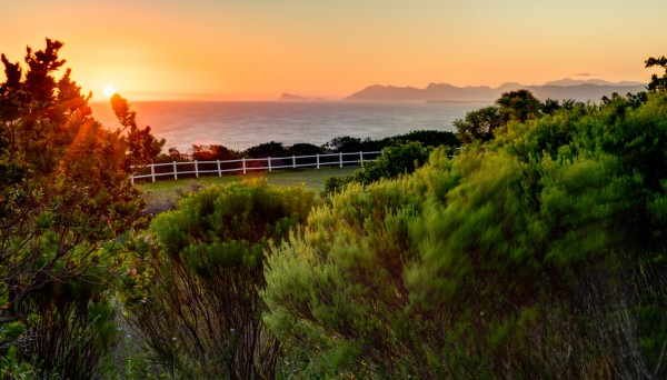 "Sundown at ""Grootbos Resort"""