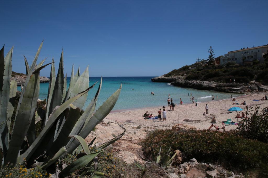 Badespass auf Mallorca
