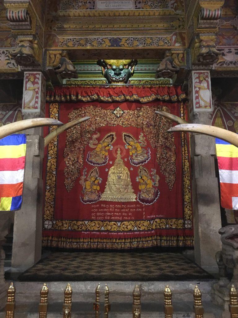 Tempel der Zahnreliquie Sri Lanka Kandy