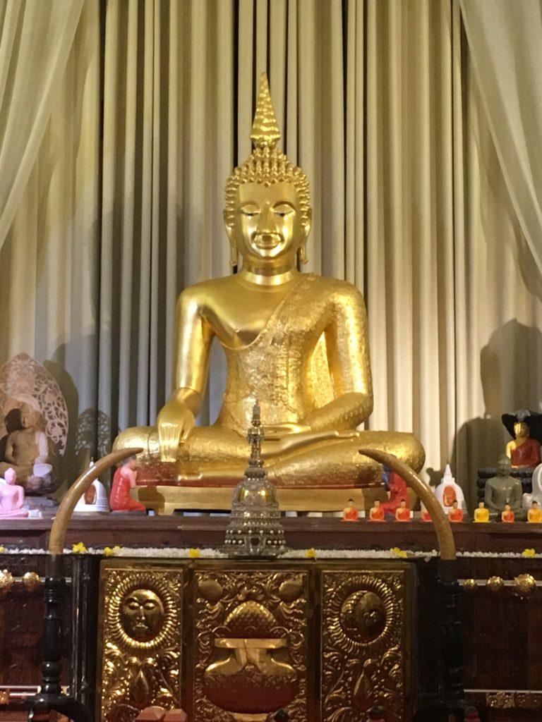 Blick vom Tempel der Zahnreliquie in Sri Lanka Kandy
