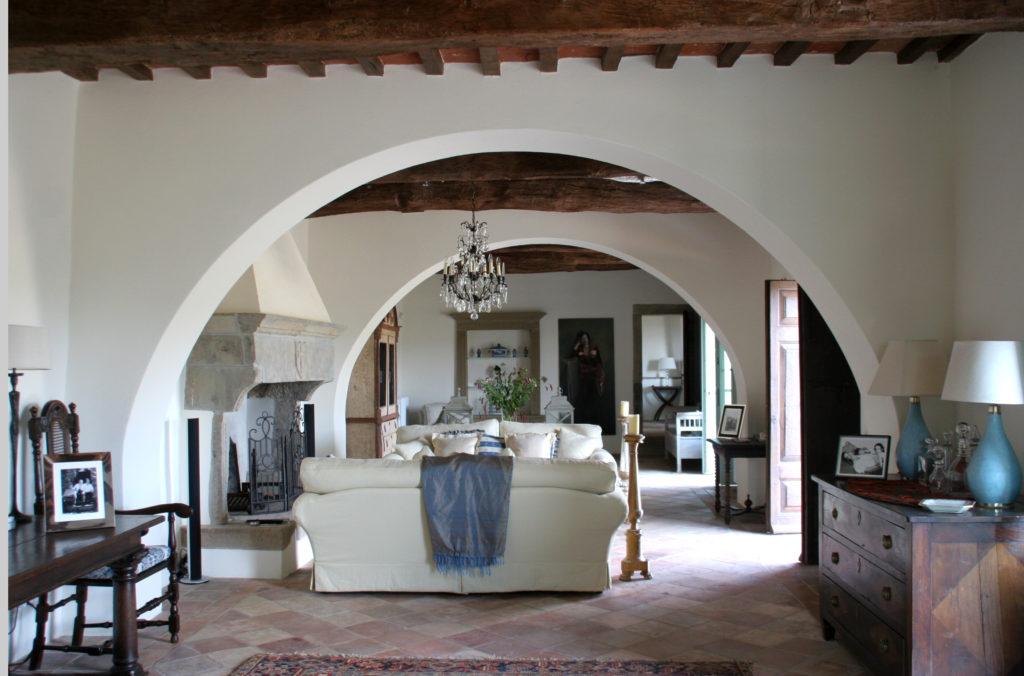 Design in einer Luxus-Ferienvilla