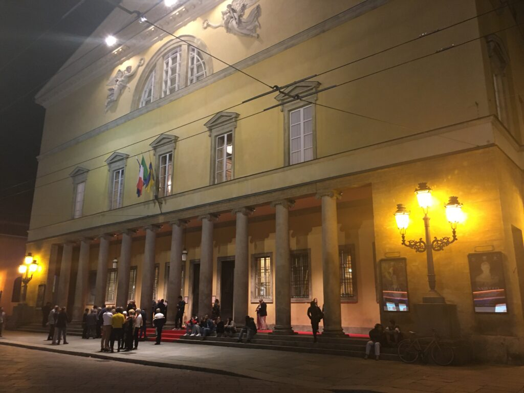 Teatro Regio in Parma während der Pause