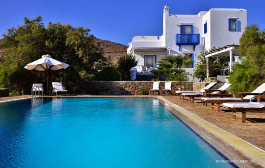 Griechenland - CYCLADES - MYKONOS - Lia - Villa Anastasia - Holiday villa with garden and pool