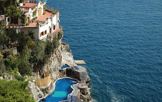 Italien - CAMPANIA - AMALFI COAST - Praiano - Villa Costa degli Dei - Holiday villa with pool situated on cliffs