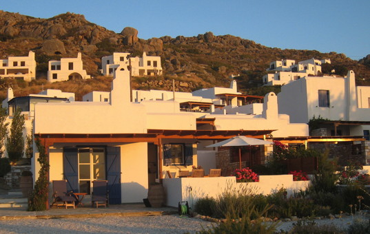 Griechenland - CYCLADES - NAXOS - Mikri Vigla - Spiti Orkos - Holiday house directly at sandy beach