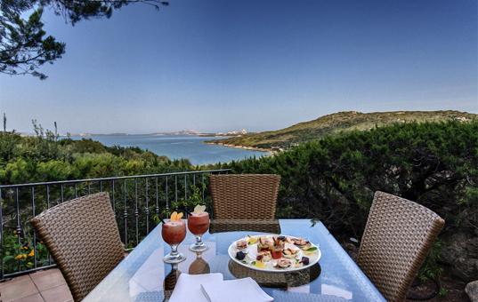 Italien - SARDINIA - Baja Sardinia - Villa Ortensia - Beautiful sea view hotel villa Sardegna