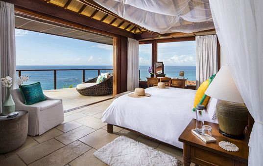 Karibik - Necker Island - Necker Island - view from bedroom great house in necker island caribbean