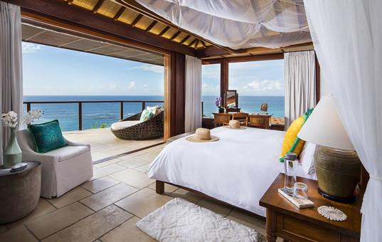 Karibik - Necker Island - Necker Island - view from bedroom great house in necker island caribbean