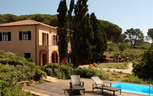 Italien - TUSCANY - ELBA - Costa dei Gabbiani - Villa Api - spacious holiday home with pool