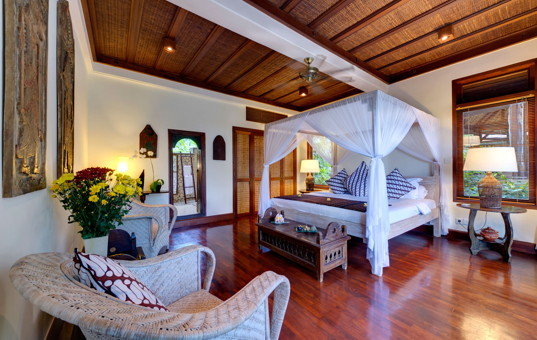 Asien - BALI - Canggu - Villa Sungai Tinggi - Large double bedroom