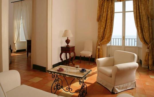 Italien - CAMPANIA - Castellabate - Palazzo Belmonte - tasteful interior design