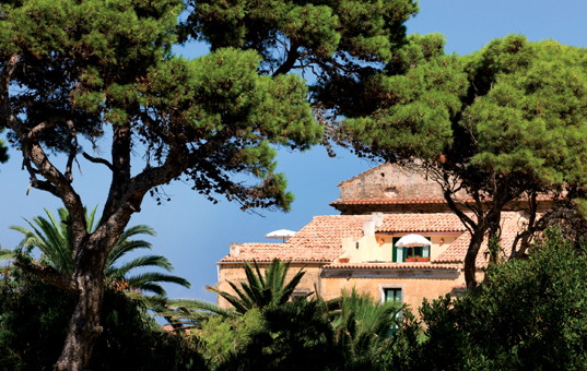 Italien - CAMPANIA - Castellabate - Palazzo Belmonte - located by the sea