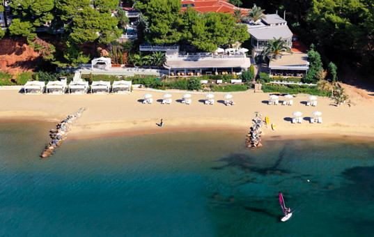 Griechenland - HALKIDIKI - Nikiti - Danai Beach Resort - Hotel beach
