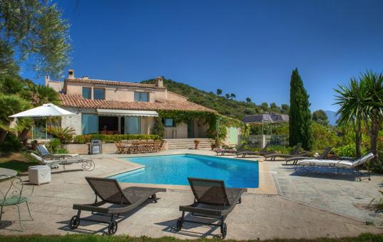 Frankreich - COTE D'AZUR - L' Aire Saint Michel  - Villa Claire -