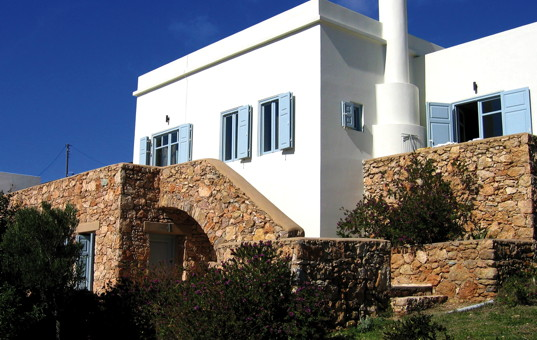 Griechenland - CYCLADES - SYROS - Finikia - Aegean Dream - beautiful luxury villa at the beach