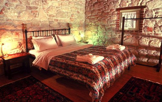 Griechenland - HALKIDIKI - Afitos - Petrino Suites Hotel - Cozy double bedroom