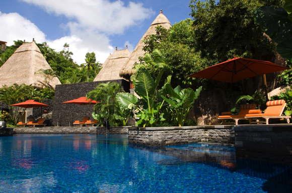luxury hotel Seychellen