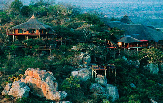 Afrika - SOUTH AFRICA - KRUEGER NATIONAL PARK - Sabi Sand Wildreservat - Ulusaba Rock Lodge - villa in game reserve