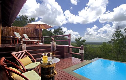 luxury lodge with service luxury South Africa Mpumalanga Krueger National Park Sabi Sand Wildreservat Ulusaba Rock Lodge