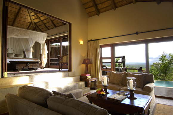 luxury lodge with service