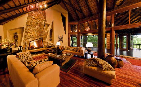 lodge in Africa luxury South Africa Mpumalanga Krueger National Park Sabi Sand Wildreservat Ulusaba Safari Lodge