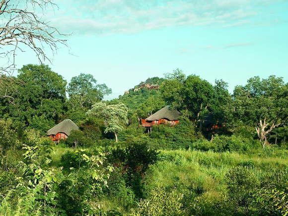 Lodge im Wildreservat