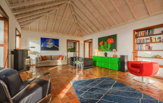 Spanien - CANARY ISLANDS - LA PALMA - Puntagorda - Villa Botanico - modern design