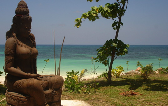 Indischer Ozean - SEYCHELLES - Praslin, Anse Kerlan - Castello Beach Hotel - Hotel on the beach seychelle