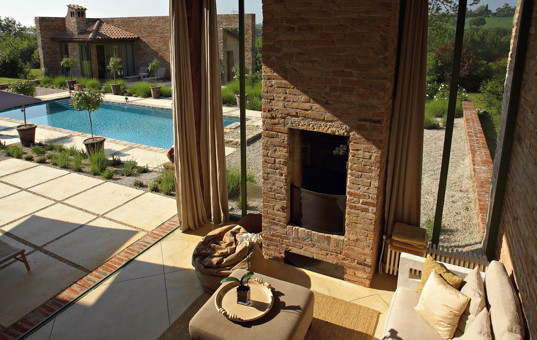 Italien - TUSCANY - Foiano delle Chiana - Villa Gallo - living room holiday villa tuscany