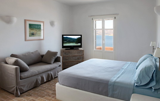 Griechenland - CYCLADES - ANTIPAROS - Soros - Soros Beach Villa 3 - Double room with sea view