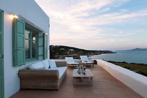 luxury villa by the sea