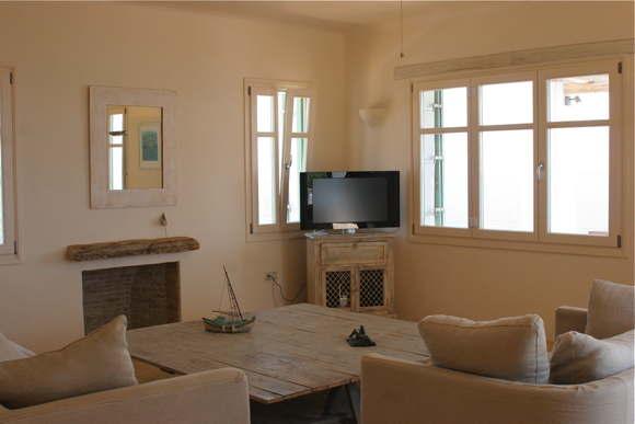 beach villa rental Greece