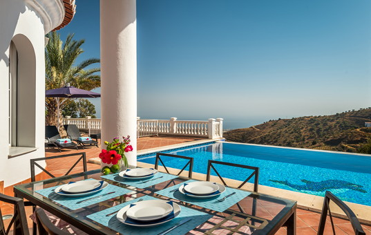 Spanien - Andalusien  - Costa del Sol - Sayalonga - Villa Andalucia -