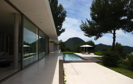 <a href='/holiday-villa/spain.html'>SPAIN</a> - <a href='/finca/spain/balearic-islands.html'>BALEARIC ISLANDS</a>  - <a href='/finca/spain/ibiza.html'>IBIZA</a> - San Jose - Colle des Vent - luxury villa with panoramic views