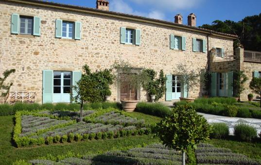 Italien - Toskana  - Lisciano Niccola - Casale di Sant'Andrea - exklusive luxusvilla in der toskana