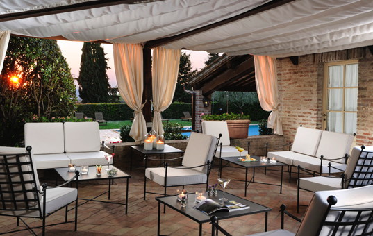 Italien - Toskana  - Castelnuovo Berardengo - Borgo San Felice - luxushotel mit edlem spa nahe siena in der toskana