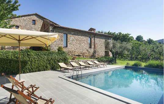 Italien - UMBRIA - San Savino di Murlo - Villa San Savino - exclusive country house with pool in Umbria