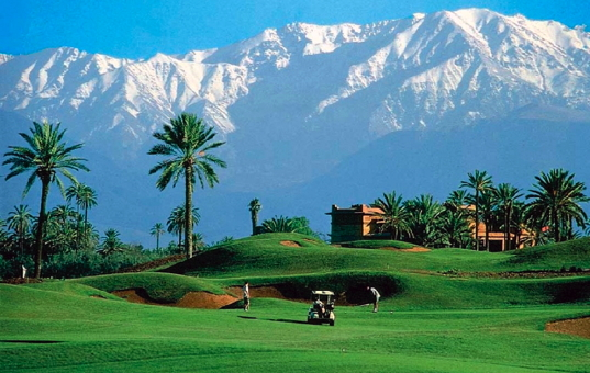 Afrika - MOROCCO - Palmeraie - Secret Garden Villas - villa by golf court Marrakech