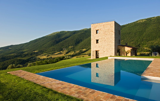 Italien - UMBRIA - San Savino di Murlo - Le Torre - luxury holiday home with fantastic view in umbria