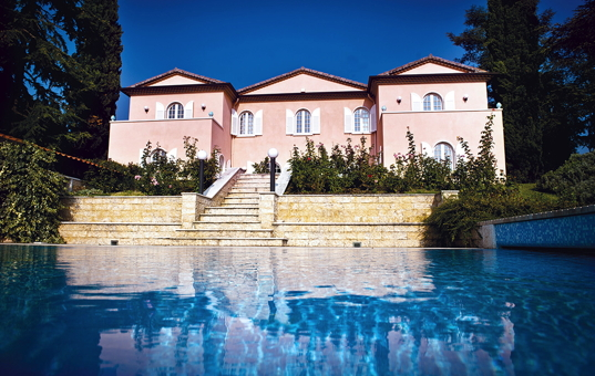 Italien - LAKE GARDA - Lazise - Villa Costasanti - stately villa with pool