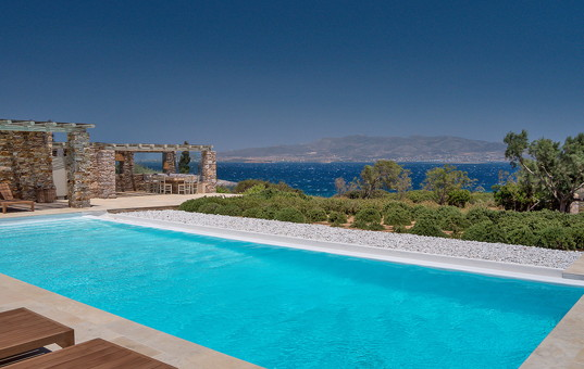 Griechenland - CYCLADES - ANTIPAROS - Soros - Villa Helena 1 - pool view vacation villa in antiparos greece