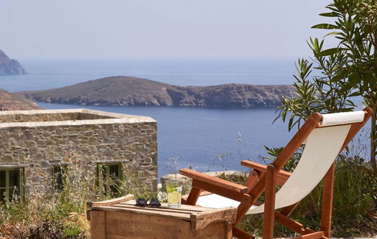 Griechenland - CYCLADES - SERIFOS - Livadi - Liomandra House A & B -