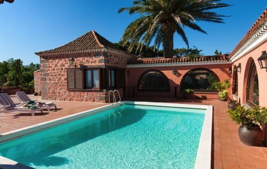 Spanien - Kanaren  - Gran Canaria - Santa Brigida - Finca Montealto -