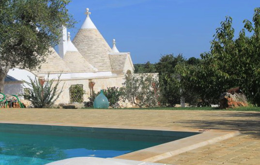 Italien - PUGLIA - Ostuni - Trullo Angelo - Traditional Puglian Villa with terrace and pool
