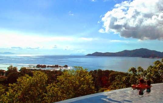 Indischer Ozean - SEYCHELLES - La Digue, Anse Severe - Le Domaine de L'Orangeraie -