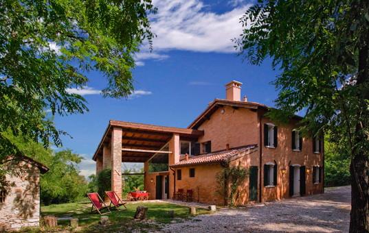 Italien - VENETO - Montemerlo - Casa Lieta - house with loggia