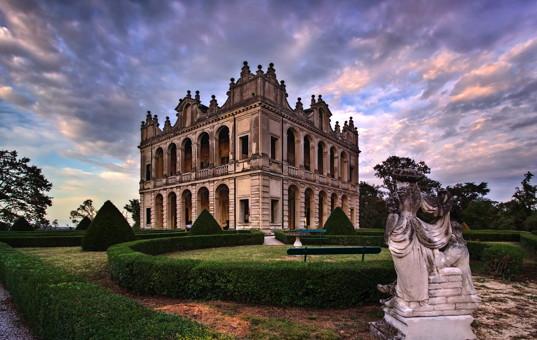 Italien - VENETO - Selvazzano Dentro - Villa Emo Capodilista - villa like a castle