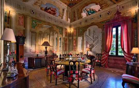 Italien - VENETO - Selvazzano Dentro - Villa Emo Capodilista - lordly dining room