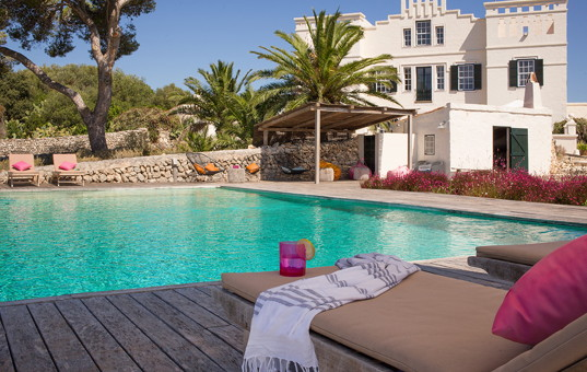 Spanien - Balearen  - Menorca - Es Migjorn Gran - Villa Binigaus Nou -